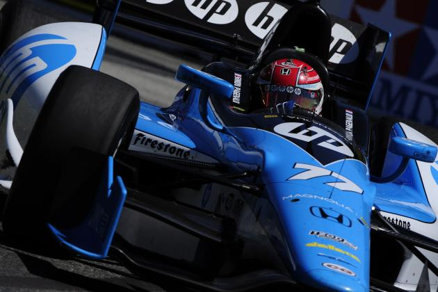 Simon Pagenaud Having Strong Rookie IndyCar Season
