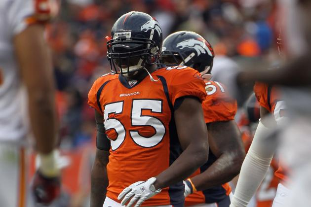 Denver Broncos: Why This Season Will Be D.J. Williams' Last with the Team