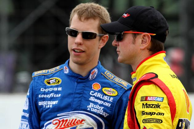 Brad Keselowski Has Kind Words for Former Sprint Cup Teammate Kurt Busch
