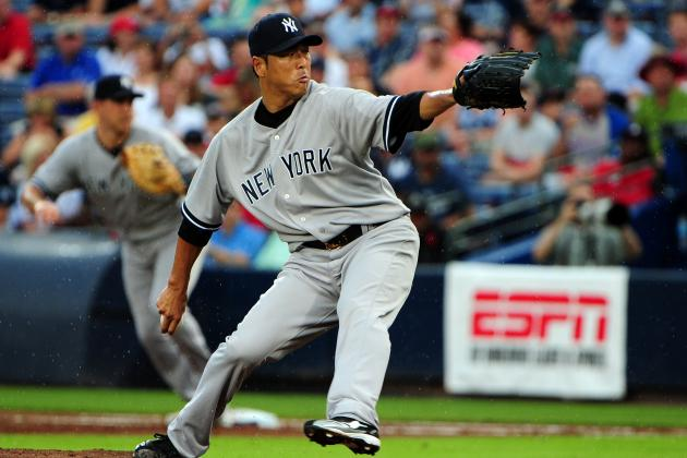 Yankees vs. Braves: Hiroki Kuroda Pitches Bombers to 3-2 Win, Complete Sweep
