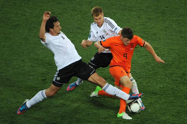 Netherlands vs. Germany: Tactical Analysis of Euro 2012 Group B Clash
