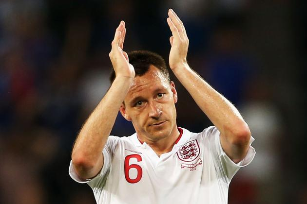 Euro 2012:  England Should Have Left More of the Veterans at Home