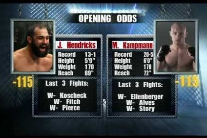 Who Is More Deserving of a Shot at Carlos Condit: Kampmann or Hendricks?