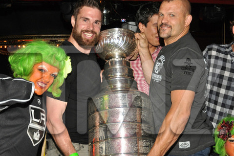Los Angeles Kings: Stanley Cup Tours L.A. and Parties with Oompa Loompas