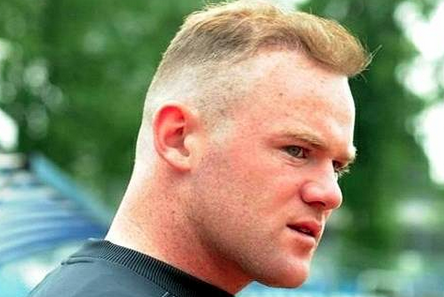 Extra Time: England Striker Rooney Sporting New Hair 'Style'
