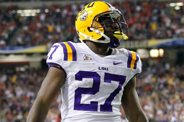 LSU Football: Best Ways for Les Miles to Use Vastly Talented Group of RBs