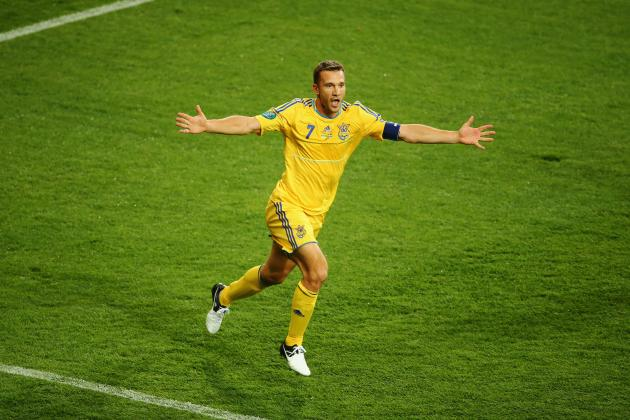 Ukraine vs France Euro 2012: X-Factors in Pivotal Group D Match