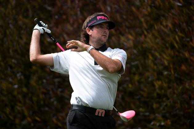 US Open Golf 2012 Leaderboard: Golfers Struggling and Thriving at Olympic Club