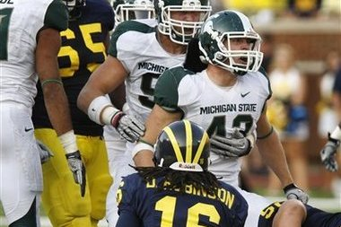 Brady Hoke Acknowledges Spartans Have Kicked the Wolverines' Tails