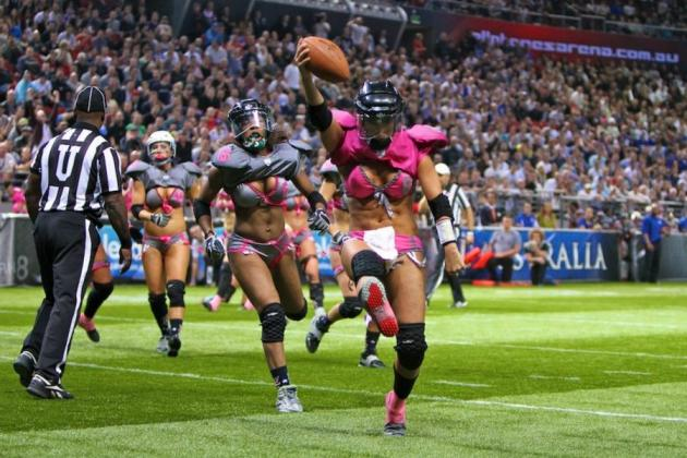 Lingerie Football Video Game: Should Madden Franchise Be Worried?
