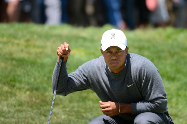 US Open Golf 2012: Tiger Woods Seeks to Get Closer Jack Nicklaus' Record