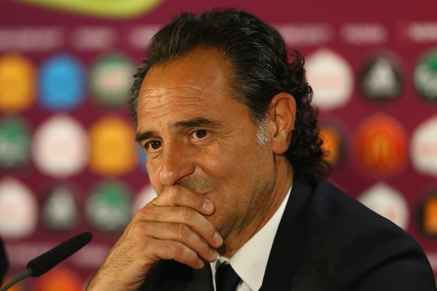 Euro 2012: Italy vs. Ireland, Prandelli to Tactically Outwit Trappatoni