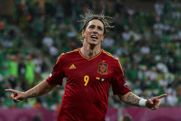 Euro 2012 Results: Fernando Torres Finds Redemption for Spain vs. Ireland
