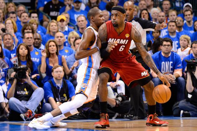 NBA Finals 2012: Kevin Durant Surpassing LeBron James Would Be Good for the NBA