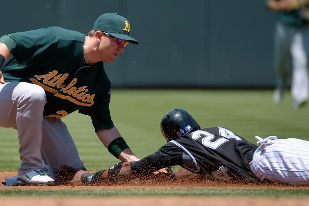 A's Make Fast Work of Rockies