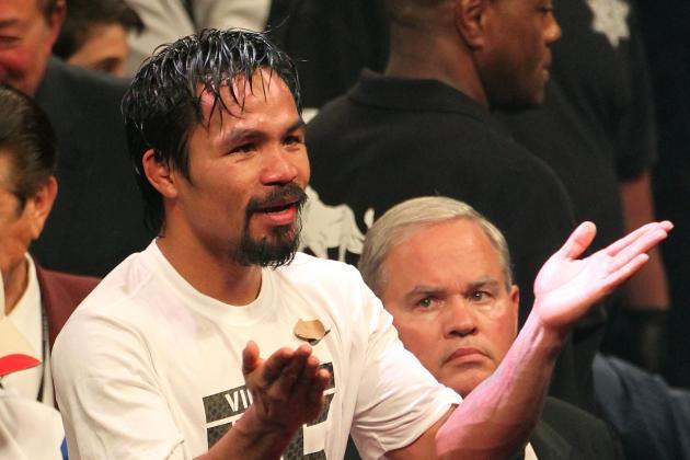 Manny Pacquiao: Timothy Bradley Debacle Makes Pac-Man Sympathetic Figure