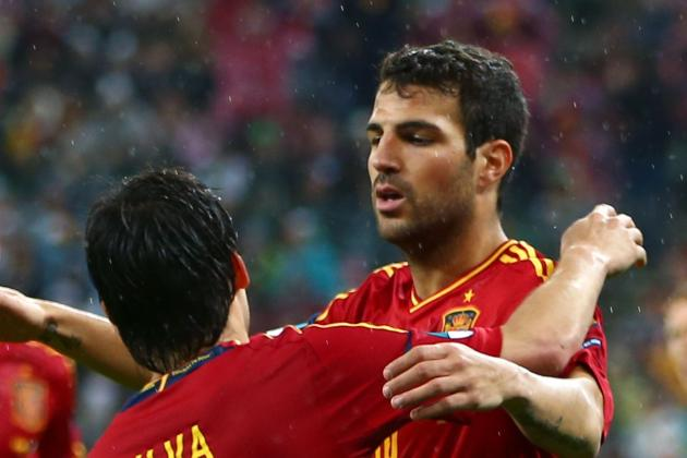 Euro 2012: Cesc Fabregas and Players Who Must Continue to Step Up