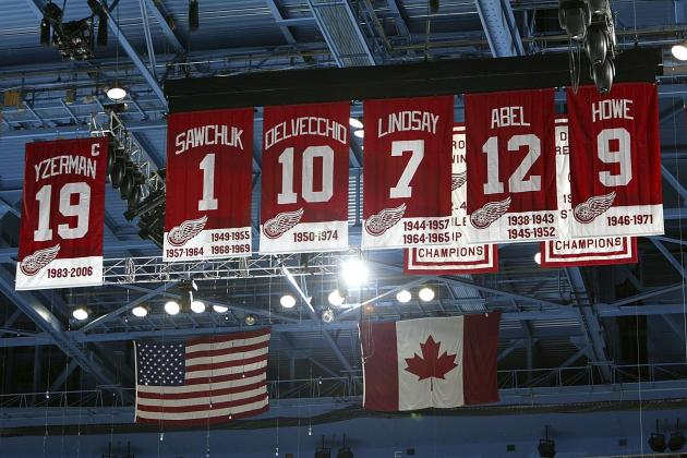 Detroit Red Wings: The Number (Besides No. 5) the Wings Should Retire/Honor