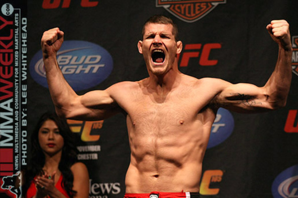 Michael Bisping on Chael Sonnen: 'I Have Him Quaking in His Boots'
