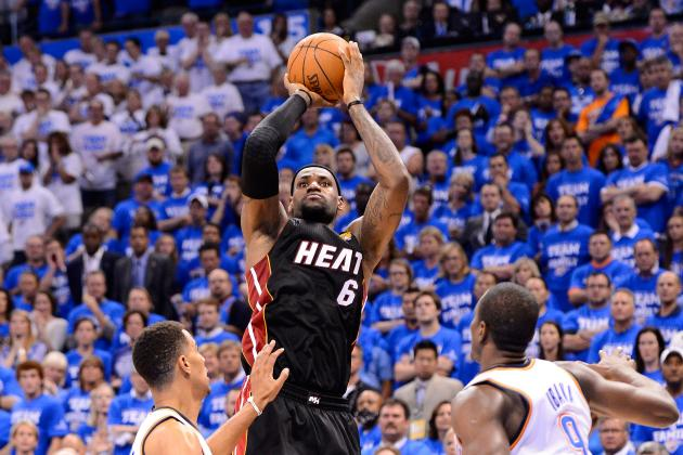 Heat vs Thunder: LeBron, Heat Survive Fourth Quarter Rally, Tie Finals at 1