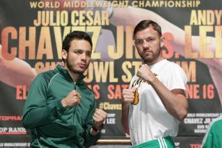 Julio Cesar Chavez Jr. vs. Andy Lee: Live from the Sun Bowl in El Paso, Texas