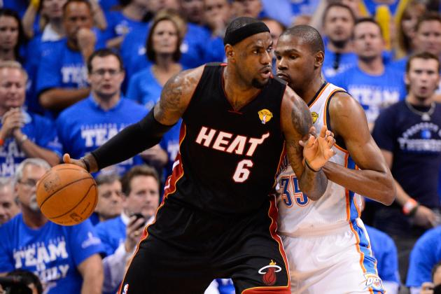 NBA Finals 2012: Oklahoma City Thunder vs. Miami Heat, Game 3 Odds