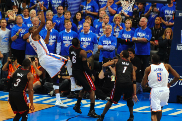 Did Referees Screw OKC Thunder Out of Crucial NBA Finals Game 2 vs. Miami Heat?
