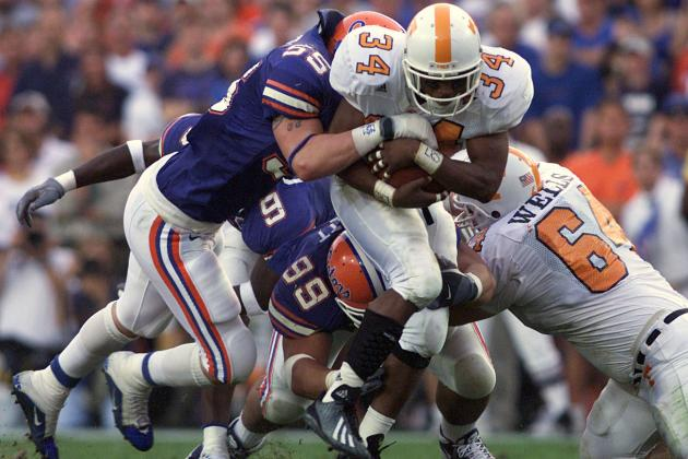 Classic SEC Football: Tennessee Tops Florida at the Swamp in 2001