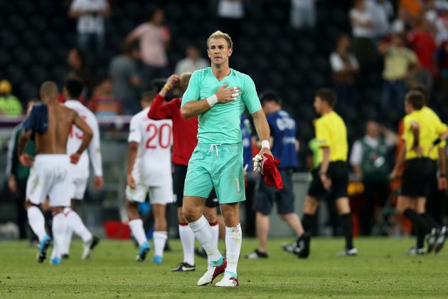 England Euro 12: Joe Hart and Players Most Vital to Squad's Success