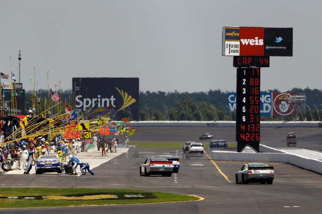 NASCAR Defends Timing System After Rash of Speeding Penalties at Pocono