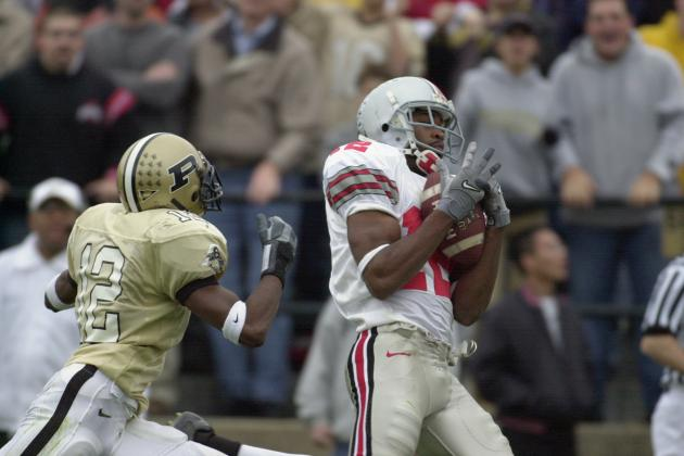 Classic Big Ten Football: Ohio State at Purdue, 2002