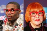 Sally Jessy Raphael Warns Westbook About Red Glasses