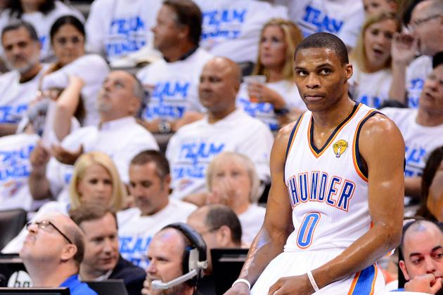 NBA Finals 2012: ESPN's Jeff Van Gundy on OKC Thunder's Russell Westbrook