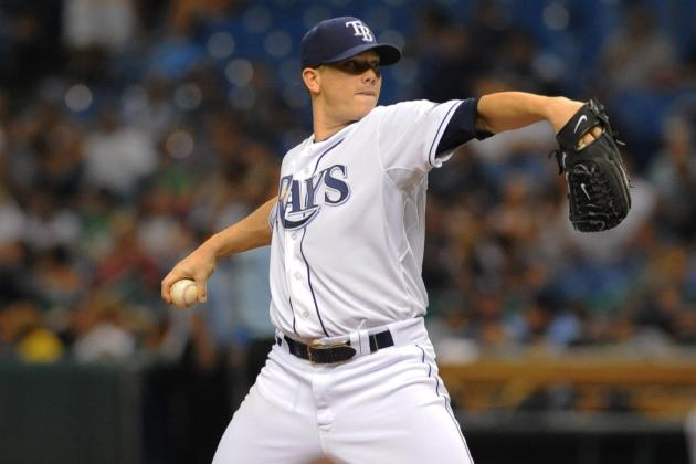 Jeremy Hellickson: Tampa Bay Rays Hurler Takes Home AL Worst of the Night Award