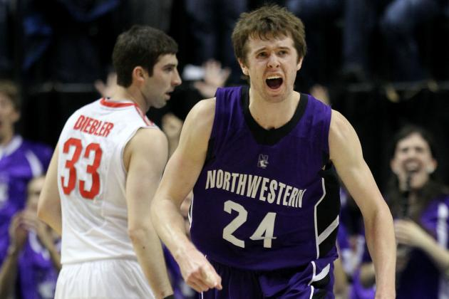 Northwestern's John Shurna Hopes to Break Another Wildcat Curse: The NBA Draft