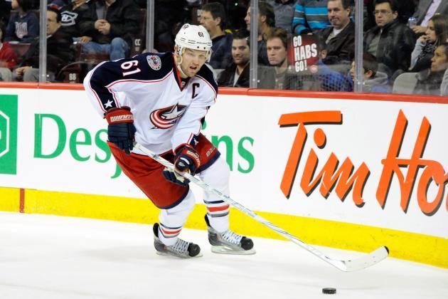 NHL Rumors: Rick Nash Trade Talks Heating Up, San Jose Sharks Falling Behind?