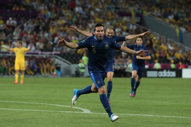 Euro 2012 Results: France Proves Championship Chops in Beatdown of Ukraine