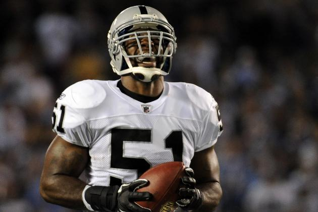 Oakland Raider Aaron Curry Uses Twitter to Bash Fan's Graduation Speech