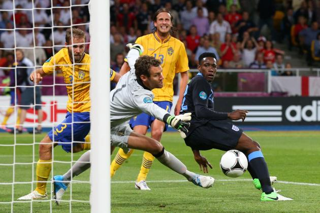 Sweden vs. England Euro 2012: Live Score, Analysis and Recap