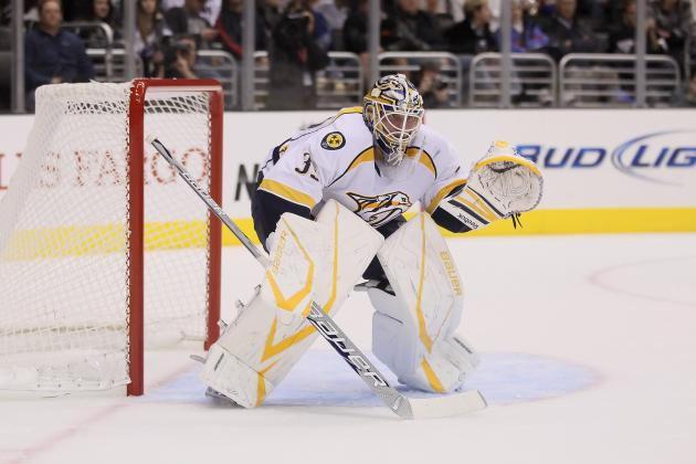 Tampa Bay Lightning Acquire Goaltender Anders Lindback from Nashville