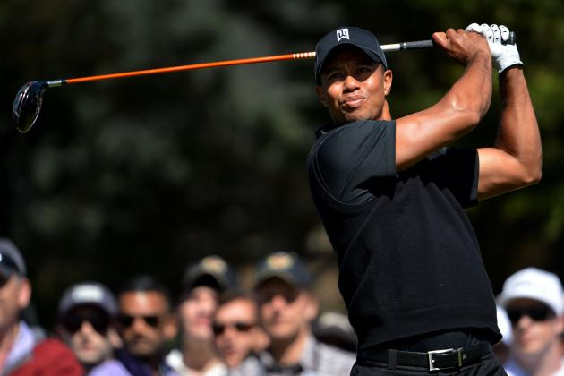 US Open Leaderboard 2012: Contenders That Will Fold in the Face of Tiger Woods