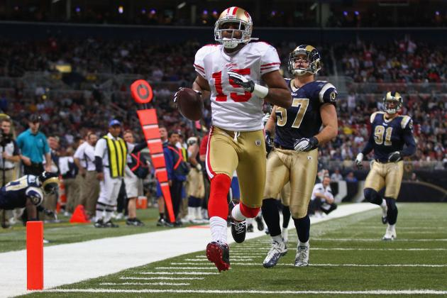 Stat Projections for Every San Francisco 49ers Wide Receiver in 2012