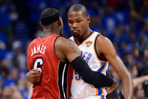 Heat vs. Thunder: NBA Finals Are Destined to Go 7 Games
