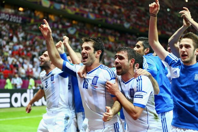 Report: Greece Shocks Russia 1-0 to Advance at Euros
