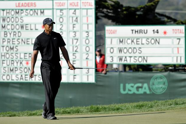 US Open Golf 2012: Victory at Major Would Mark Tiger Wood's Return