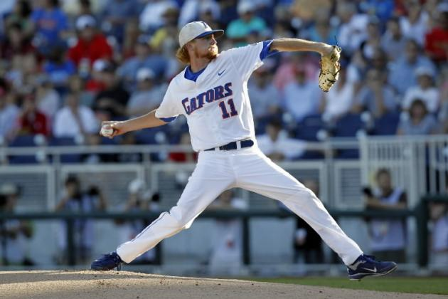 College World Series 2012: Florida Gators' Pitching Will Lead the Way to Win