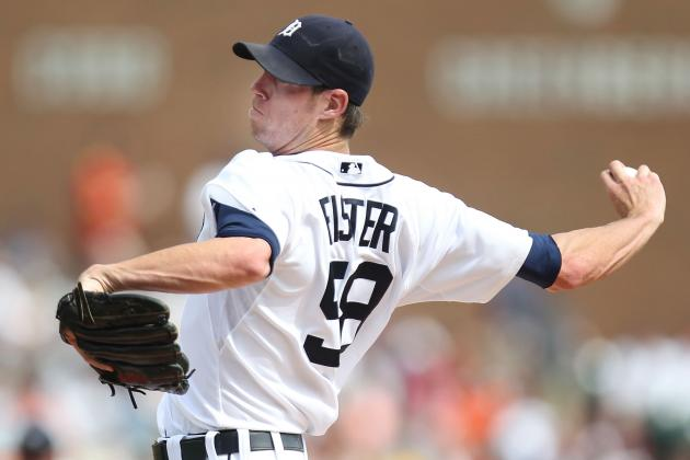 Doug Fister Notches 1st Win, Tigers Even Series with 4-1 Victory over Rockies