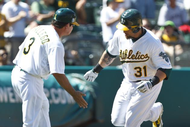 A's Ride Gomes' Pinch-Hit Homer Past Rockies