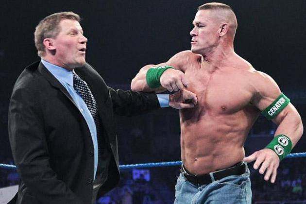 WWE's Baby Faces Must Stop Bullying John Laurinaitis