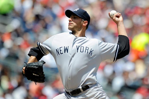 Andy Pettitte Continues to Pitch Well for Yankees, Stifles Nationals in 5-3 Win